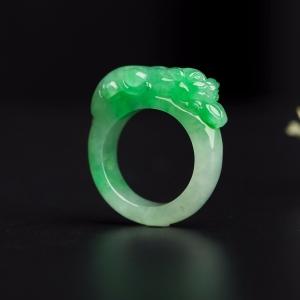 瑞兽招财指环