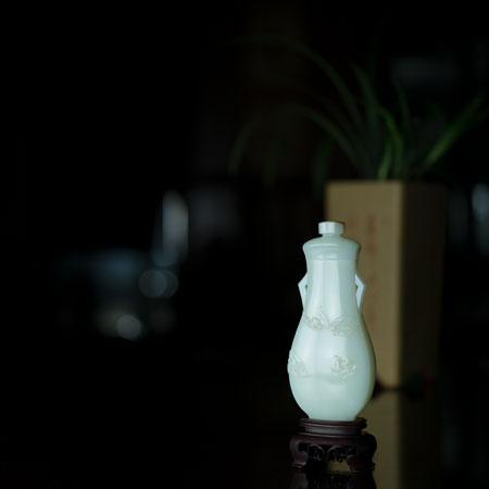 和田白玉-五福同寿